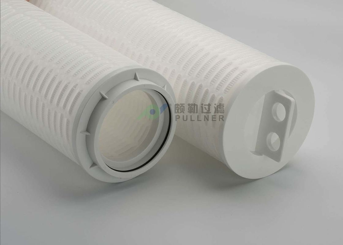 RO PP Pleated High Flow Filter Cartridge Length 1016mm Flow Rate 70m3/H 10Micron
