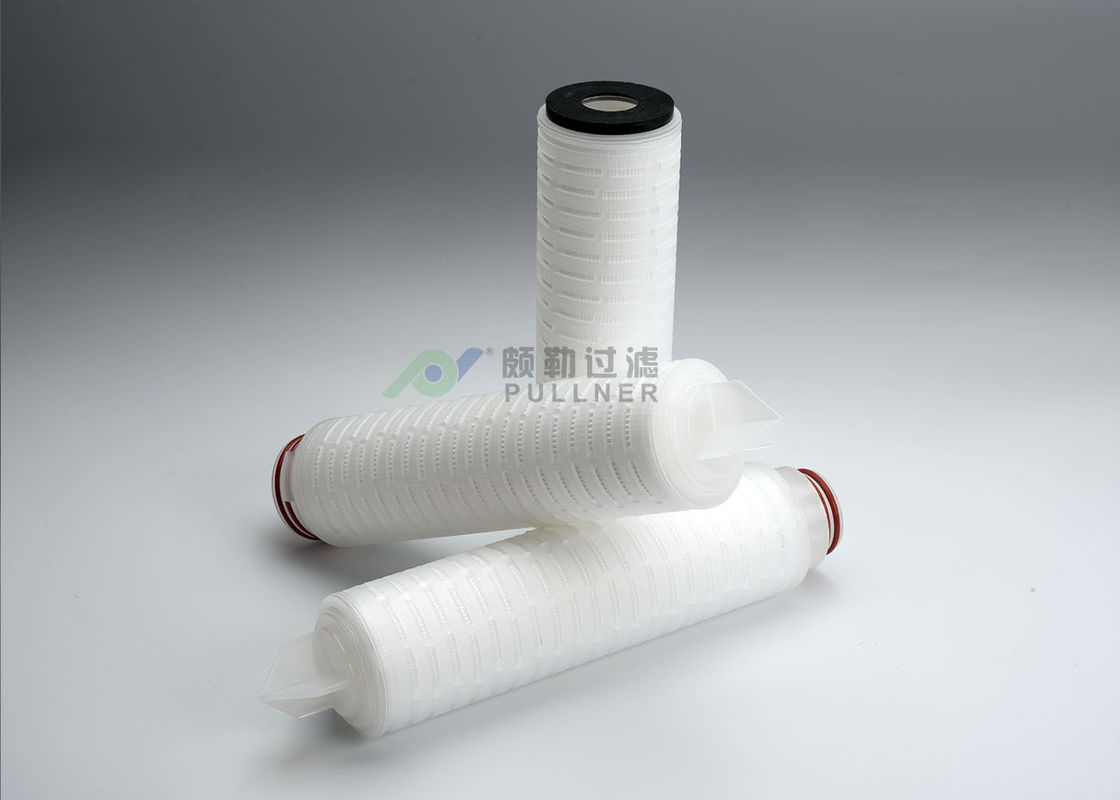 100% Integrity Test PTFE Membrane Filter Cartridge 0.22um Absolute Rating